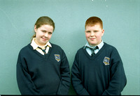 Strokestown School French Students 2001
