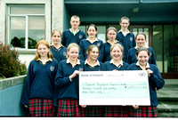 Strokestown School Special Olympics Cheque 2003