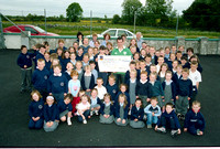 Carrick-On-Shannon School (Charity Cheque) 2003