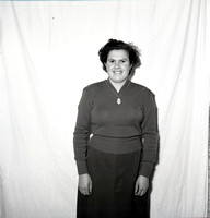 Castlerea Italian Chip Shop Lady 1957